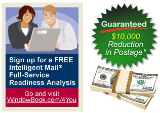 Intelligent Mail-Full-Service. Save on postage