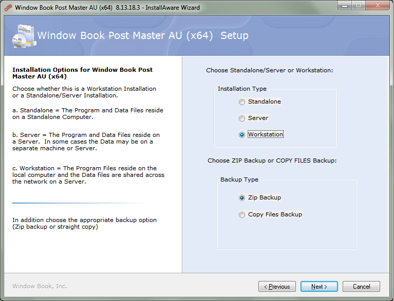 Workstation Install for Automatic Updates in Post Master